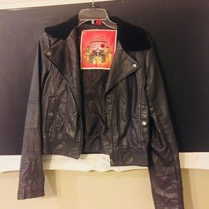Jackets & Blazers - Moto Faux Leather Jacket